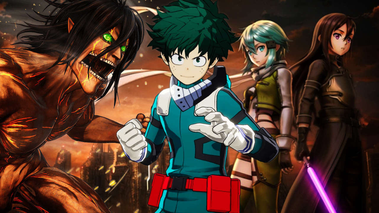 The 21 Best Anime Games of All Time