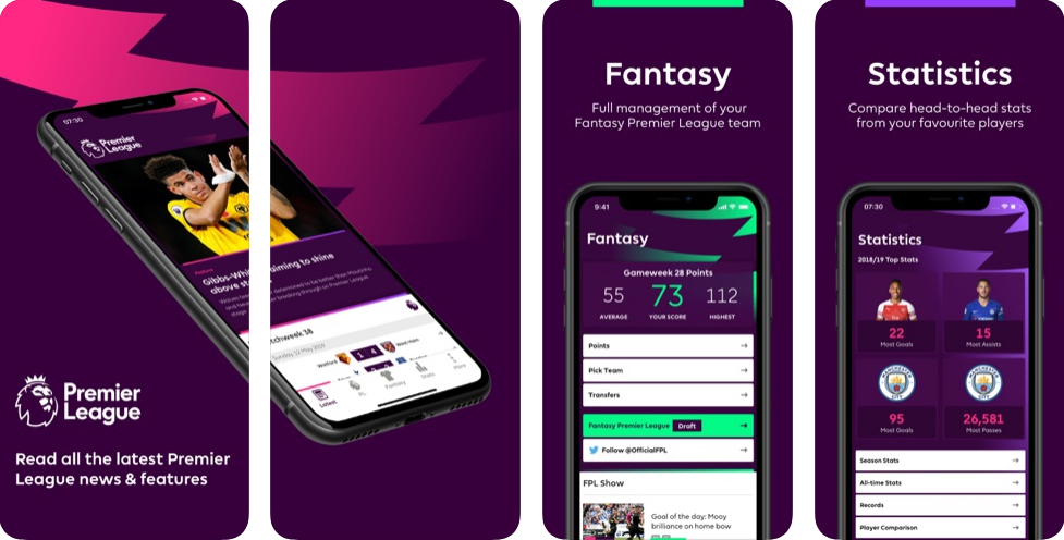 Premier League - Official App - Available for Free