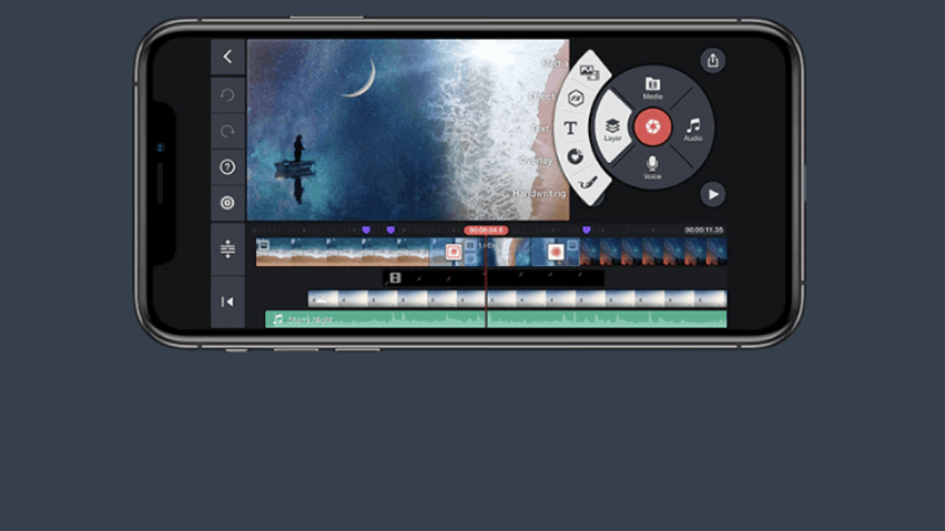 KineMaster: Add and Combine Multiple Layers of Video, Images, Text and Handwriting