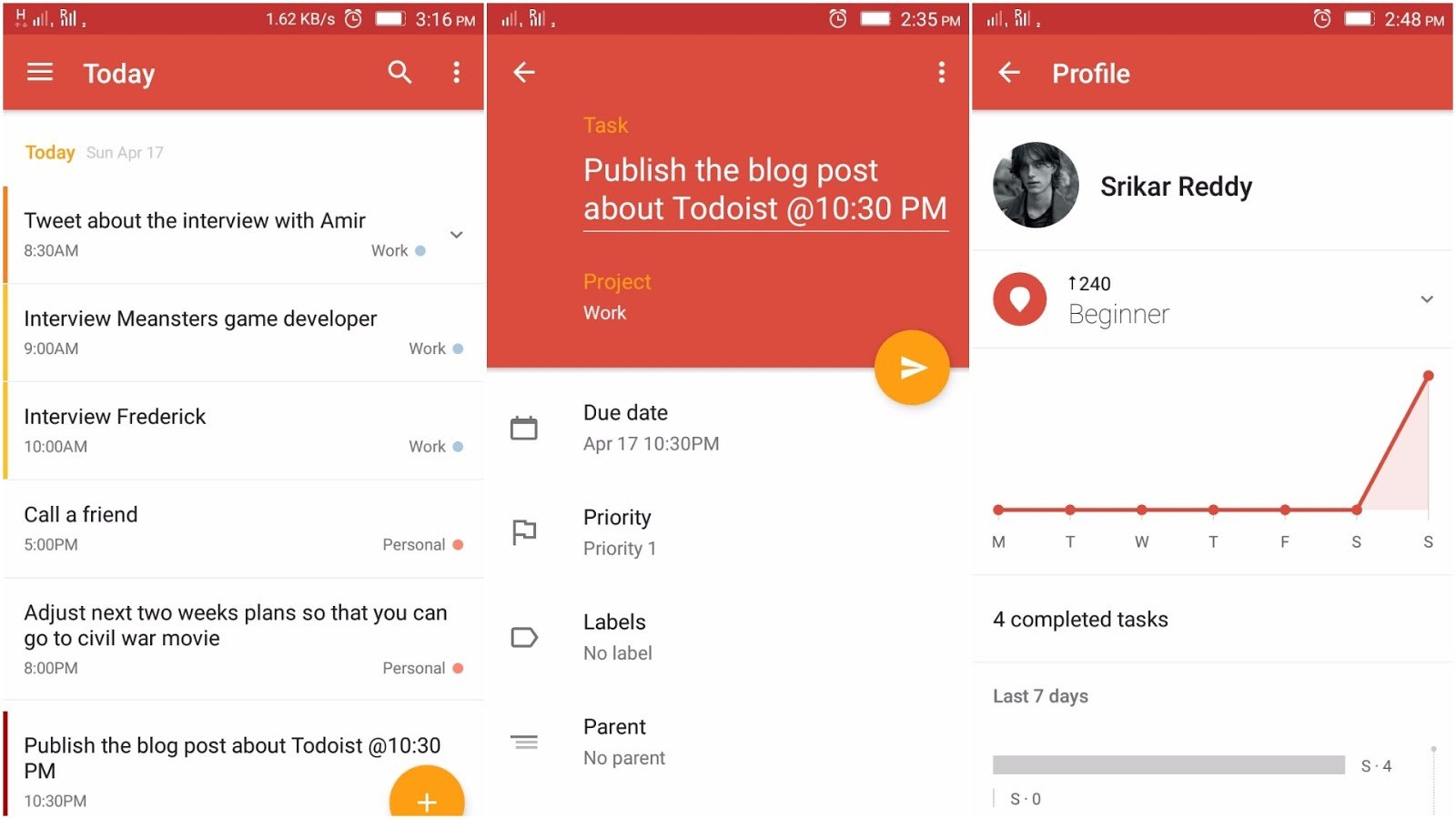 Check Out Todoist the Perfect To-Do List App to Get More Organized