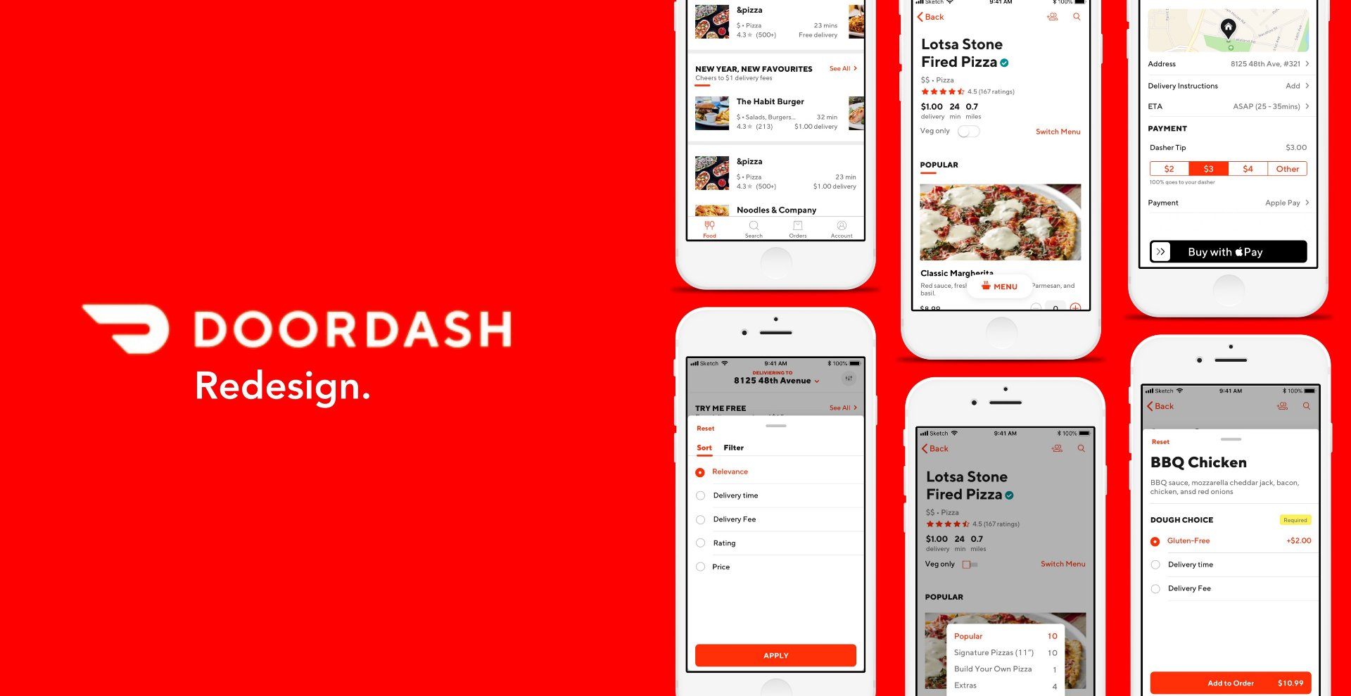 DoorDash - Discover the Newest Food Delivery App