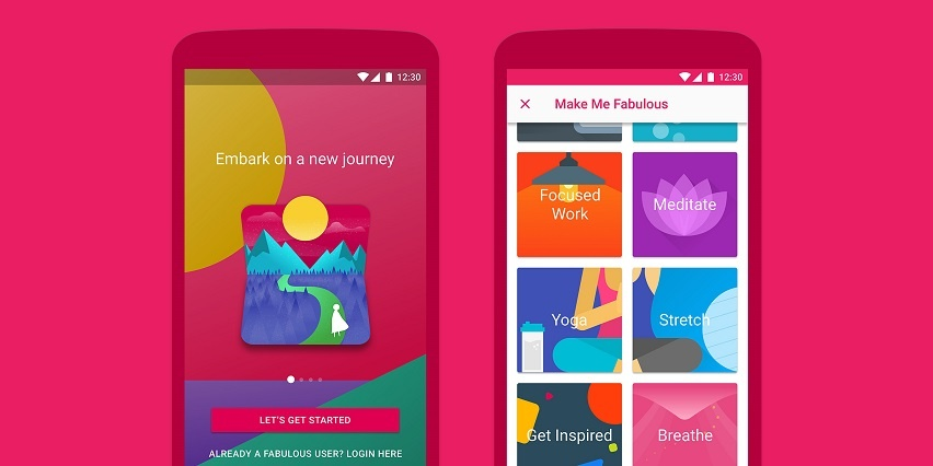 Use the Fabulous App to Master Self Care
