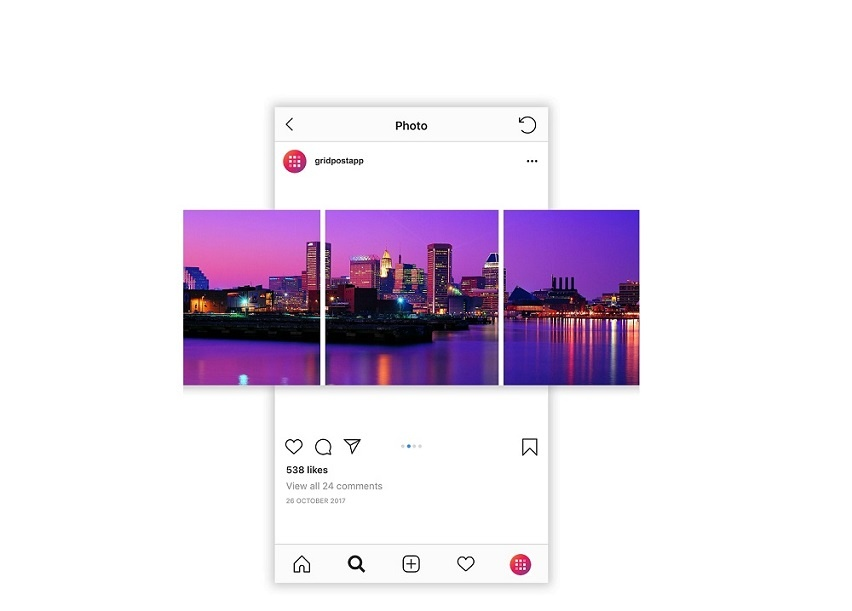 App to Make Carousels on Instagram - How to Download Grid Post