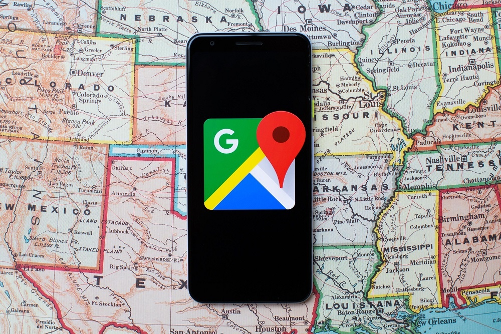 Check Out Locations by Downloading the Google Maps App