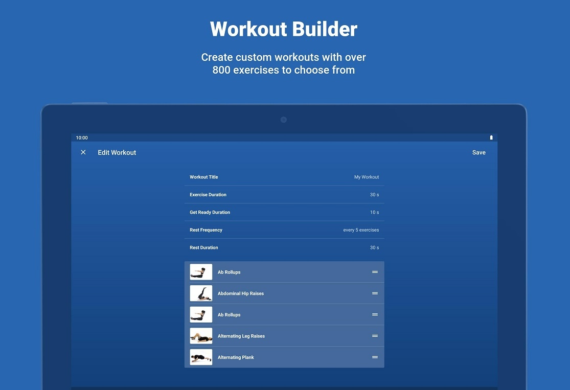 Fitify App - See How To Do Training Routines